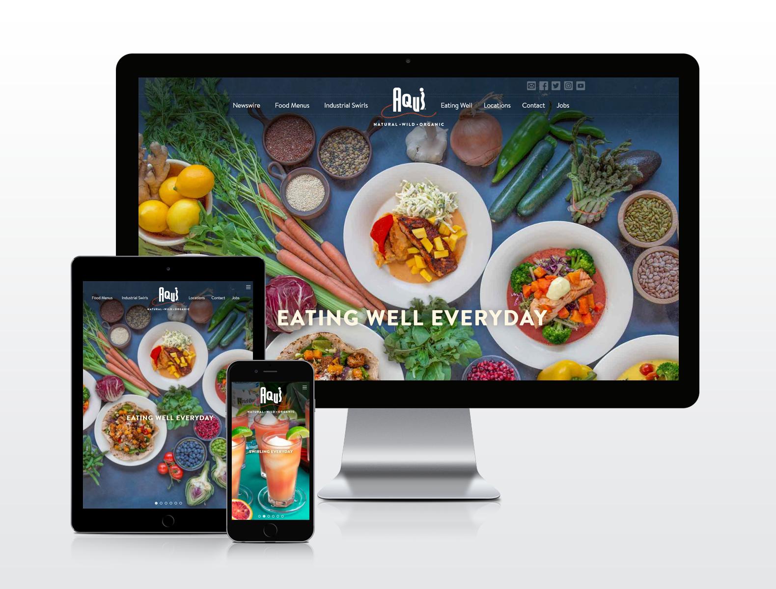 Round Table Pizza Anderson.Trevnet Media Portfolio Custom Website Design Company