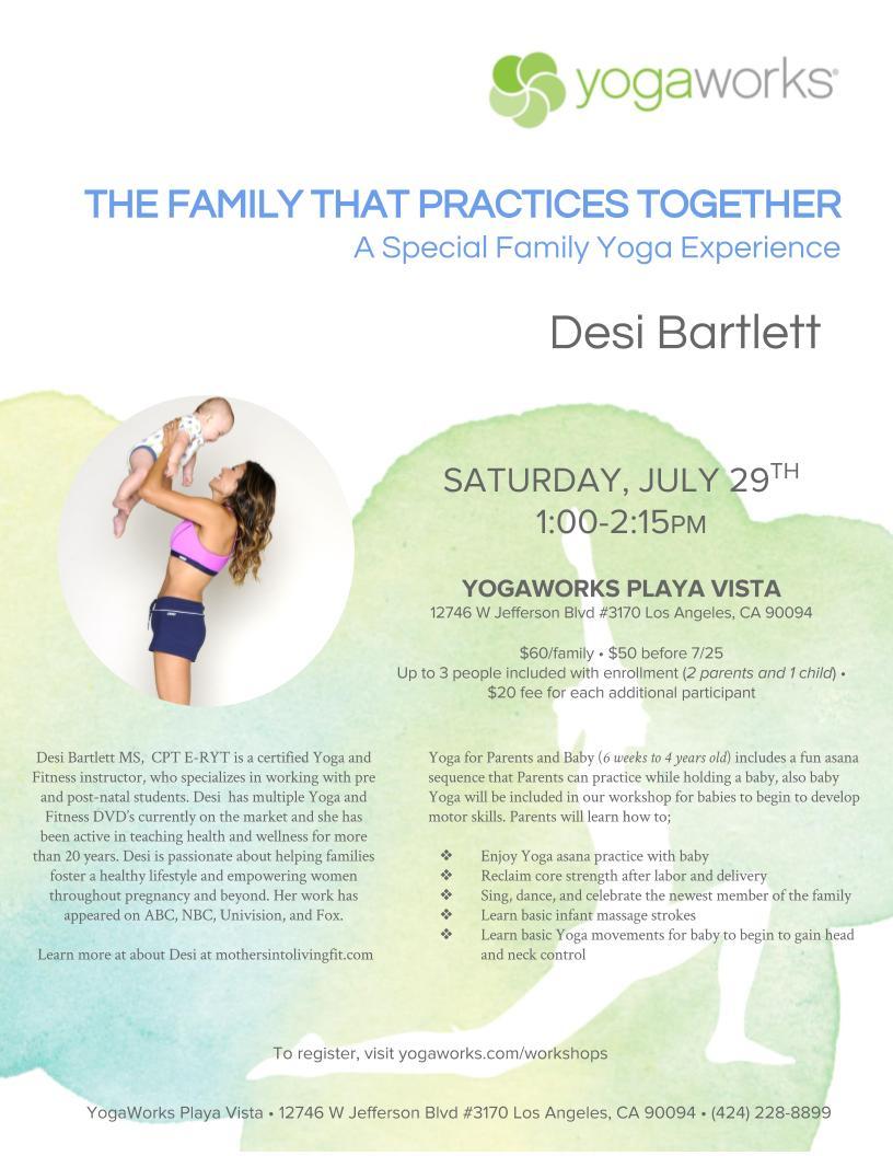 Blog - Desi Bartlett - Yoga LA, Spanish Fitness and Exercise